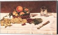 Still Life: Fruit on a Table, 1864 Fine-Art Print