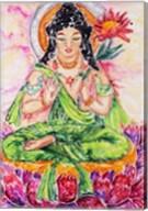 Flower Buddha Fine-Art Print
