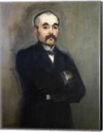 Portrait of Georges Clemenceau Fine-Art Print