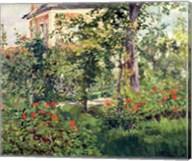 The Garden at Bellevue, 1880 Fine-Art Print
