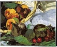 Dejeuner sur l'Herbe, 1863 (fruit detail) Fine-Art Print
