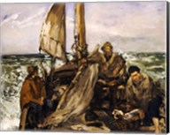 The Workers of the Sea, 1873 Fine-Art Print