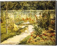The Bench, The Garden at Versailles Fine-Art Print
