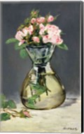 Moss Roses in a Vase, 1882 Fine-Art Print