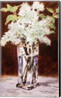White Lilac in a Crystal Vase, 1882 Fine-Art Print
