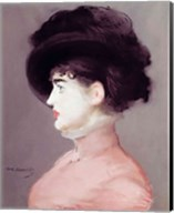 La Viennoise: Portrait of Irma Brunner, c.1880 Fine-Art Print