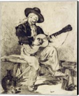 The Guitarist Fine-Art Print