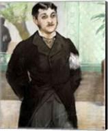 Portrait of M. Gauthier-Lathuille Fine-Art Print