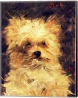 Head of a Dog - Bob, 1876 Fine-Art Print
