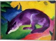 Blue Fox, 1911 Fine-Art Print