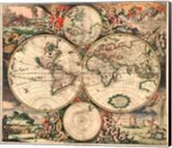 World Map 1689 Fine-Art Print