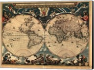 World Map 1664 Fine-Art Print