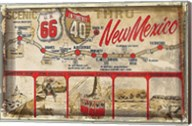 Scenic US 66 thru New Mexico Fine-Art Print