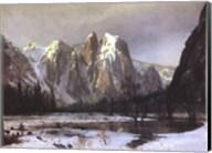 Cathedral Rock Yosemite Fine-Art Print