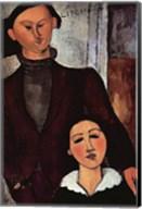 Portrait of Jacques & Berthe Lipchitz Fine-Art Print