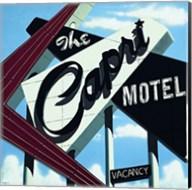 Capri Motel Fine-Art Print