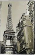 Eiffel Tower Street View #1 Fine-Art Print