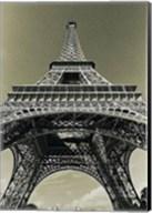 Eiffel Tower Looking Up Fine-Art Print