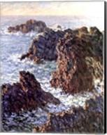 Rock Points at Belle-Ile, 1886 Fine-Art Print