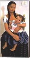 Delfina Flores and her Niece Modesta Fine-Art Print