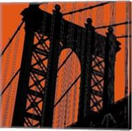 Orange Manhattan Fine-Art Print