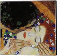 The Kiss (head detail) Fine-Art Print