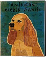 American Cocker Spaniel (buff) Fine-Art Print