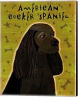 American Cocker Spaniel (black) Fine-Art Print