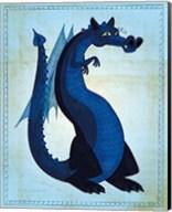 Blue Dragon Fine-Art Print