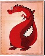 Red Dragon Fine-Art Print