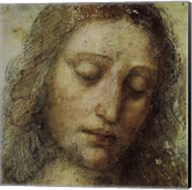 Study of Christ for Last Supper (detail) Fine-Art Print