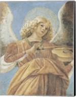 Angel with Violin Fine-Art Print