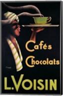 L. Voisin Cafes & Chocolats, 1935 Fine-Art Print