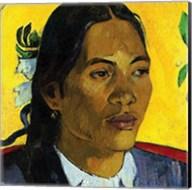Woman With Flower (detail) Fine-Art Print