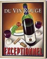 Du Vin Rouge Exceptionnel Fine-Art Print