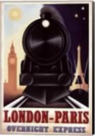 London-Paris Overnight Express Fine-Art Print
