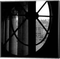 From a Window of the Louvre Fine-Art Print