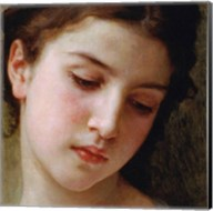 Head Study of a Young Girl (detail) Fine-Art Print