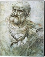 Study for an Apostle from The Last Supper, c.1495 Fine-Art Print