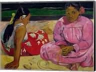 Women of Tahiti, On the Beach, 1891 Fine-Art Print