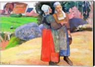 Breton Peasants, 1894 Fine-Art Print