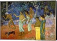 Scene from Tahitian Life, 1896 Fine-Art Print