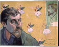 Self Portrait, Les Miserables,1888 Fine-Art Print