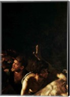 Resurrection of Lazarus, Center Detail Fine-Art Print
