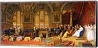 The Reception of Siamese Ambassadors by Emperor Napoleon III Fine-Art Print
