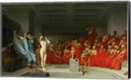 Phryne Before the Jury, 1861 Fine-Art Print