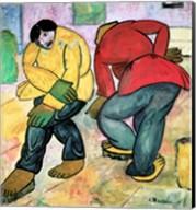 The Floor Polishers, 1911 Fine-Art Print