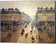 Avenue de L'Opera, Paris, 1898 Fine-Art Print