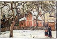 Chestnut Trees at Louveciennes, c.1871-2 Fine-Art Print