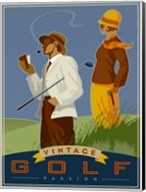 Vintage Golf - Passion Fine-Art Print